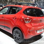Hyundai i10 GO! rear three quarter at the 2016 Geneva Motor Show