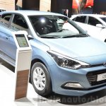 Hyundai i20 GO! front quarter at the 2016 Geneva Motor Show