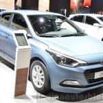 Hyundai i20 GO! front quarter at the 2016 Geneva Motor Show