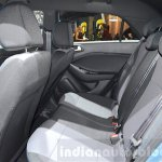 Hyundai i20 GO! rear seat at the 2016 Geneva Motor Show