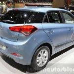 Hyundai i20 GO! rear three quarter at the 2016 Geneva Motor Show