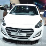 Hyundai i30 GO! front at the 2016 Geneva Motor Show