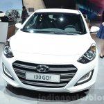Hyundai i30 GO! front at the 2016 Geneva Motor Show