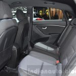 Hyundai i30 GO! rear seat at the 2016 Geneva Motor Show