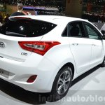 Hyundai i30 GO! rear three quarter at the 2016 Geneva Motor Show
