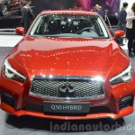 Infiniti Q50 Hybrid at the 2016 Geneva Motor Show