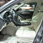Infiniti Q50 Hybrid front seats at the 2016 Geneva Motor Show