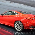 Infiniti Q60 rear three quarters at the 2016 Geneva Motor Show