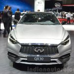 Infiniti QX30 front at the 2016 Geneva Motor Show