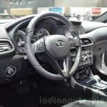 Infiniti QX30 interior at the 2016 Geneva Motor Show