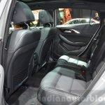 Infiniti QX30 rear seat at the 2016 Geneva Motor Show