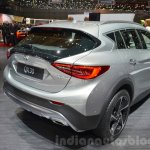 Infiniti QX30 rear three quarters at the 2016 Geneva Motor Show