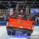 Isuzu D-Max V-Cross Limited rear at 2016 BIMS