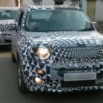 Jeep Renegade front IAB spied
