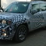 Jeep Renegade front quarter IAB spied