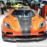Koenigsegg Agera Final One of 1 front at 2016 Geneva Motor Show