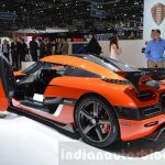 Koenigsegg Agera Final One of 1 rear quarter at 2016 Geneva Motor Show