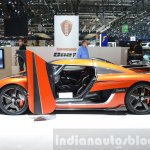 Koenigsegg Agera Final One of 1 side at 2016 Geneva Motor Show