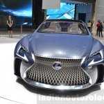 Lexus LF-FC concept front at the 2016 Geneva Motor Show