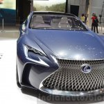 Lexus LF-FC concept headlamp, grille, bumper at the 2016 Geneva Motor Show