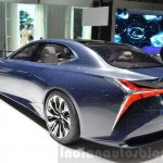 Lexus LF-FC concept rear quarter at the 2016 Geneva Motor Show