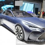 Lexus LF-FC front three quarter concept at the 2016 Geneva Motor Show