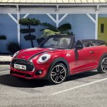 MINI John Cooper Works Convertible front three quarters