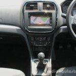 Maruti Vitara Brezza center console First Drive Review