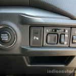 Maruti Vitara Brezza controls and start:stop button First Drive Review