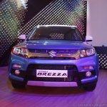 Maruti Vitara Brezza front blue launched