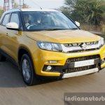 Maruti Vitara Brezza front dynamic First Drive Review
