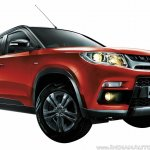 Maruti Vitara Brezza front three quarter close press image