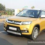 Maruti Vitara Brezza front three quarter dynamic First Drive Review