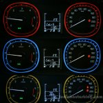Maruti Vitara Brezza instrument dial colors First Drive Review