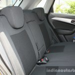 Maruti Vitara Brezza rear seat First Drive Review