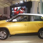 Maruti Vitara Brezza side left launched