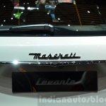 Maserati Levante badge at the 2016 Geneva Motor Show Live