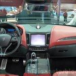 Maserati Levante dashboard at the 2016 Geneva Motor Show Live