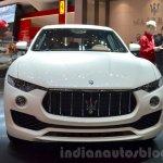 Maserati Levante front at the 2016 Geneva Motor Show Live