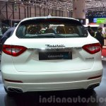 Maserati Levante rear at the 2016 Geneva Motor Show Live