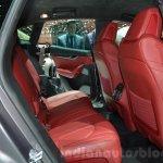 Maserati Levante rear seat at the 2016 Geneva Motor Show Live