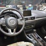 Mazda3 1.5L SKYACTIV-D dashboard at 2016 Geneva Motor Show