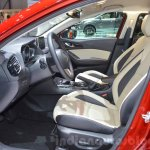 Mazda3 1.5L SKYACTIV-D front seats at 2016 Geneva Motor Show