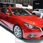 Mazda3 1.5L SKYACTIV-D front three quarters at 2016 Geneva Motor Show