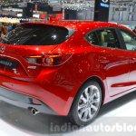 Mazda3 1.5L SKYACTIV-D rear three quarter at 2016 Geneva Motor Show
