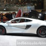 McLaren 570GT side at the 2016 Geneva Motor Show Live