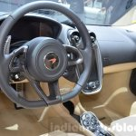 McLaren 570GT steering wheel at the 2016 Geneva Motor Show Live