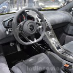 McLaren 675LT Spider interior dashboard at 2016 Geneva Motor Show