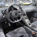 McLaren 675LT Spider interior dashboard at 2016 Geneva Motor Show