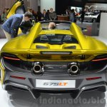 McLaren 675LT Spider rear at 2016 Geneva Motor Show